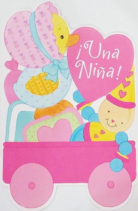 Una Nina Felicidades Por La Llegada Bebe