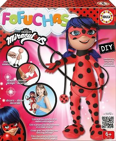 Amazon.com: Miraculous Ladybug Fofucha: Toys & Games