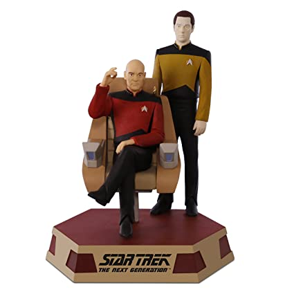 amazon com hallmark keepsake 2017 star trek the next generation