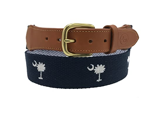 44fd059ae5e Charleston Belt Carolina Crescent Palmetto Belt With Award-winning  Embroidered Design (36)