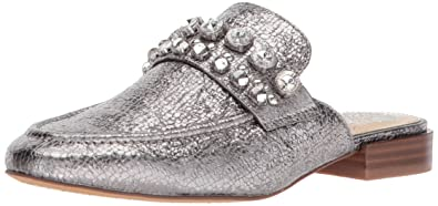 8457352ddef Vince Camuto Women s TORLISSI Loafer Flat Dark Gunmetal 5.5 M US