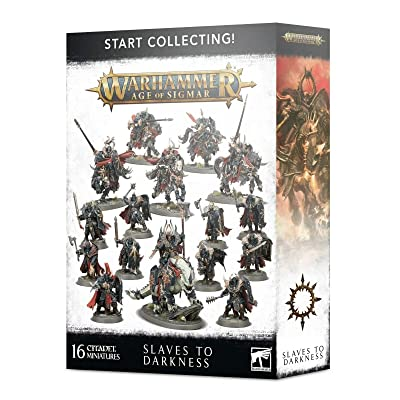 Games Workshop Warhammer Age of Sigmar: Start Collecting! Slaves to Darkness: Toys & Games