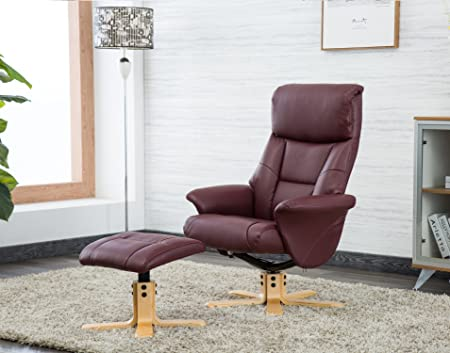 Awe Inspiring Oak City Toulon Fabric Faux Leather Swivel Recliner Chair And Foot Stool Multiple Colour Options Short Links Chair Design For Home Short Linksinfo