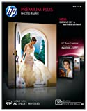 HP CR676A Premium Plus Glossy Photopaper 300g/m2 130 x 180 mm 20 Blatt 1er-Pack, weiß