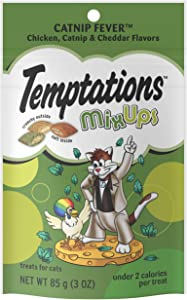 TEMPTATIONS MixUps & ShakeUps Crunchy and Soft Cat Treats, 2.5 - 3 oz. (12 Pack)