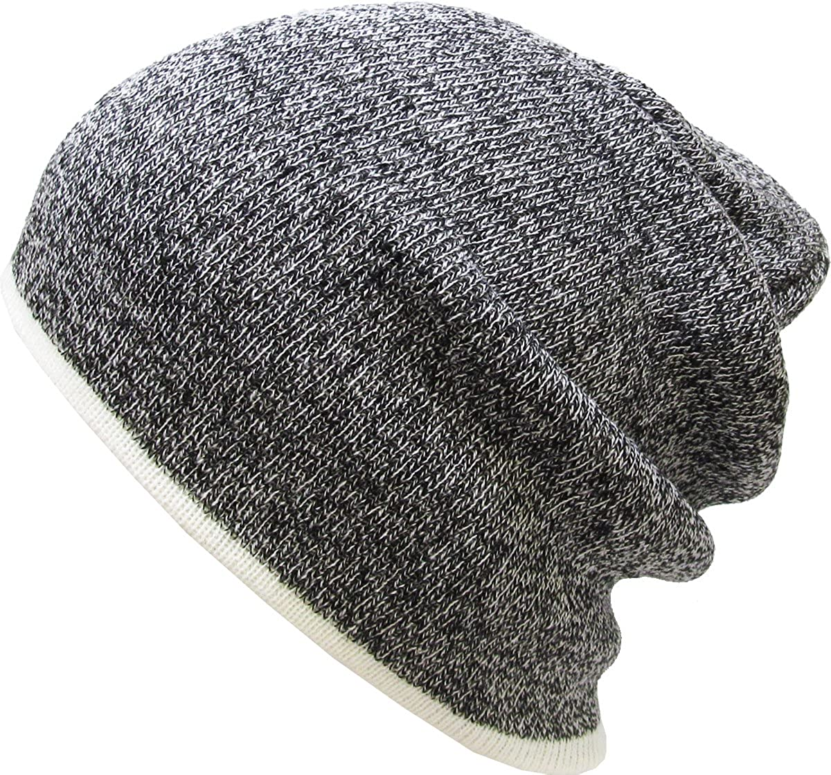 9d725fe4d46 Amazon.com  KBETHOS Warm Winter Heather Slouch Beanie Skull Cap Hat (One  Size