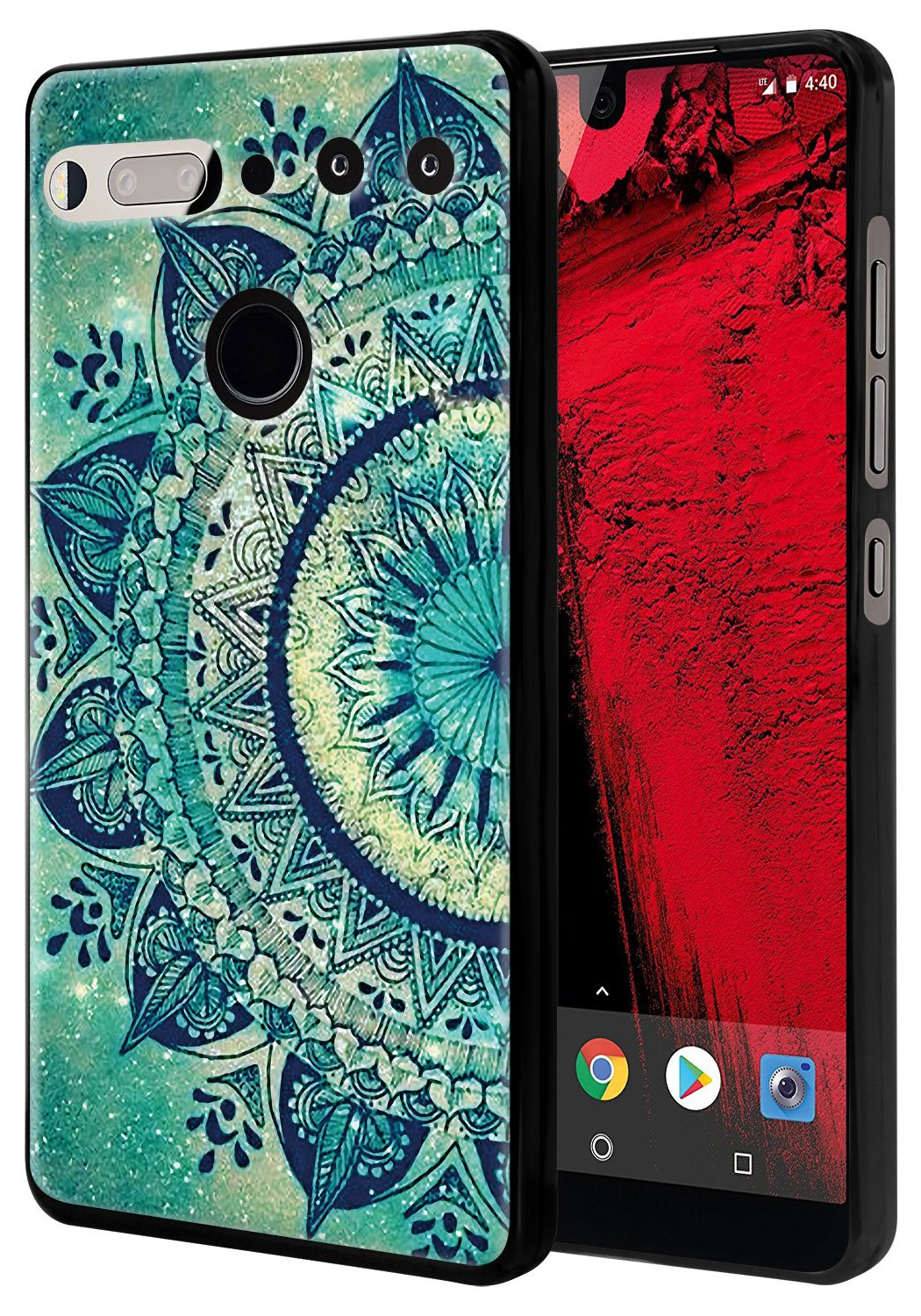 CMID Funda Essential Phone PH-1, Slim Gel TPU Caucho Silicona ...