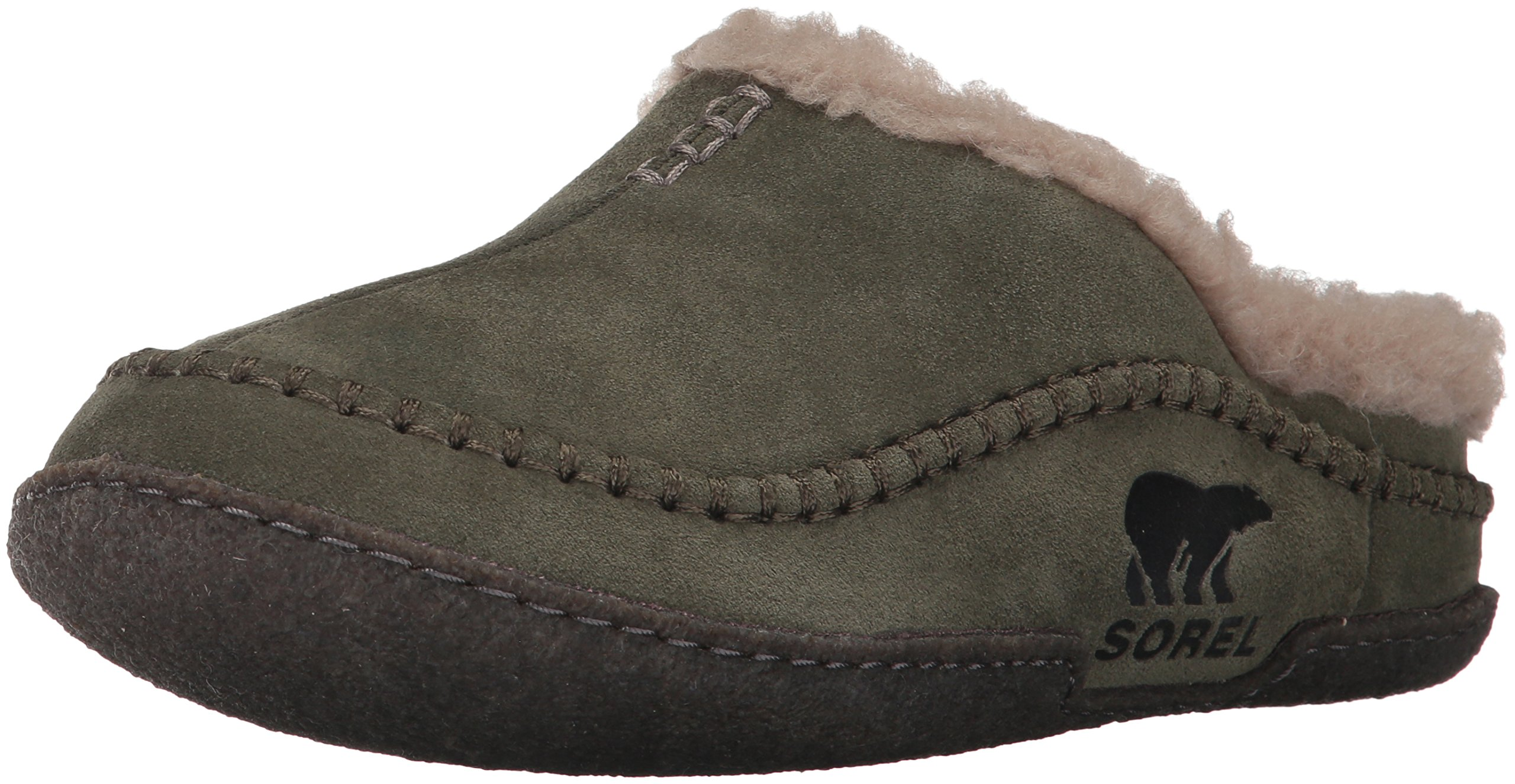 SOREL Men's Falcon Ridge Slipper,Nori/Mud,7 D US