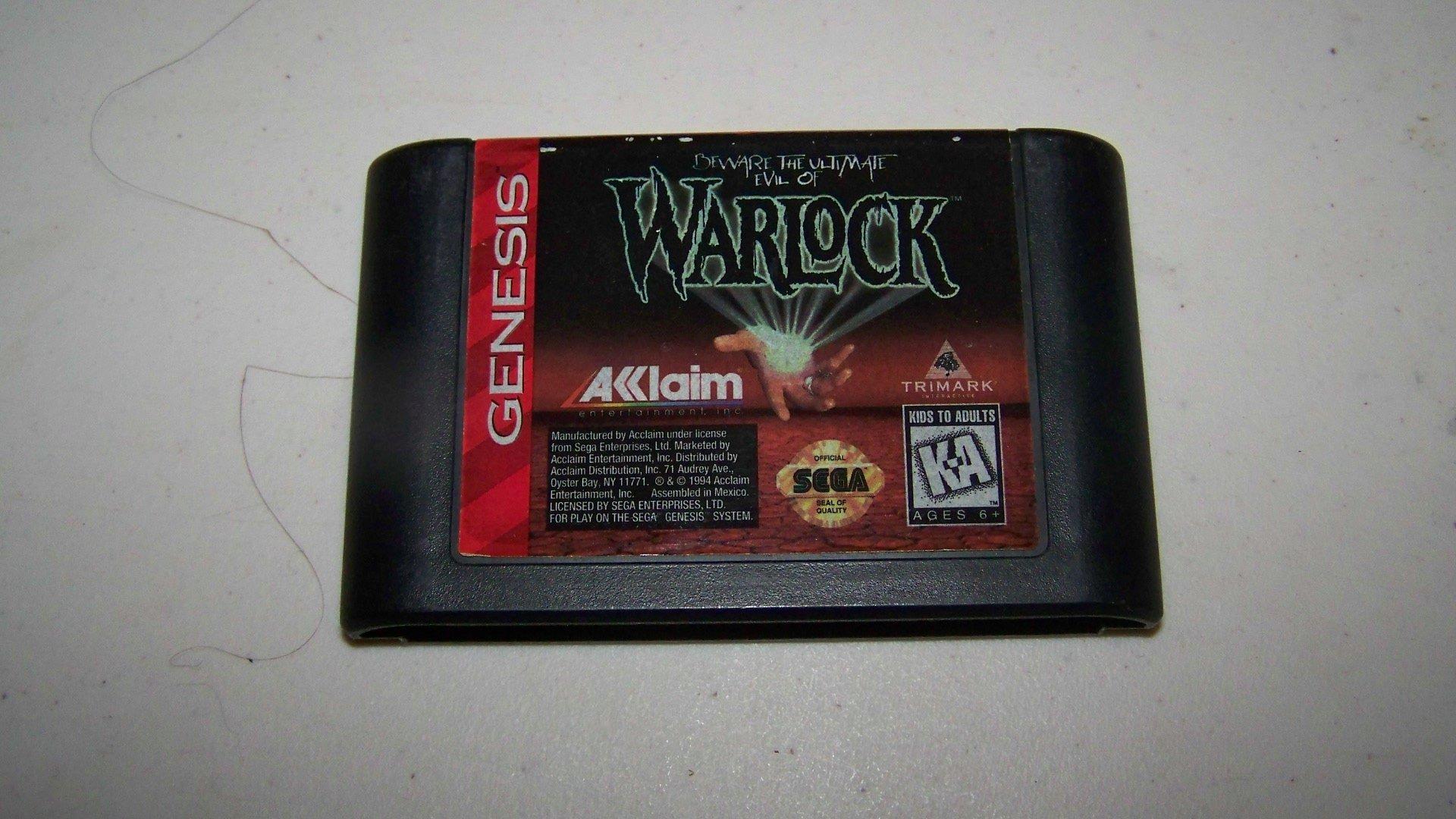 Amazon.com: Warlock - Sega Genesis: Video Games