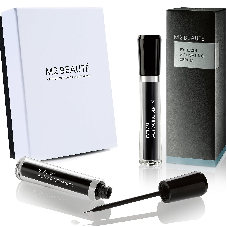 M2lashes Eyelash Activating Serum 0.17oz - 5ml   Highest Quality Professional Eyelash Growth Products M2BEAUTE