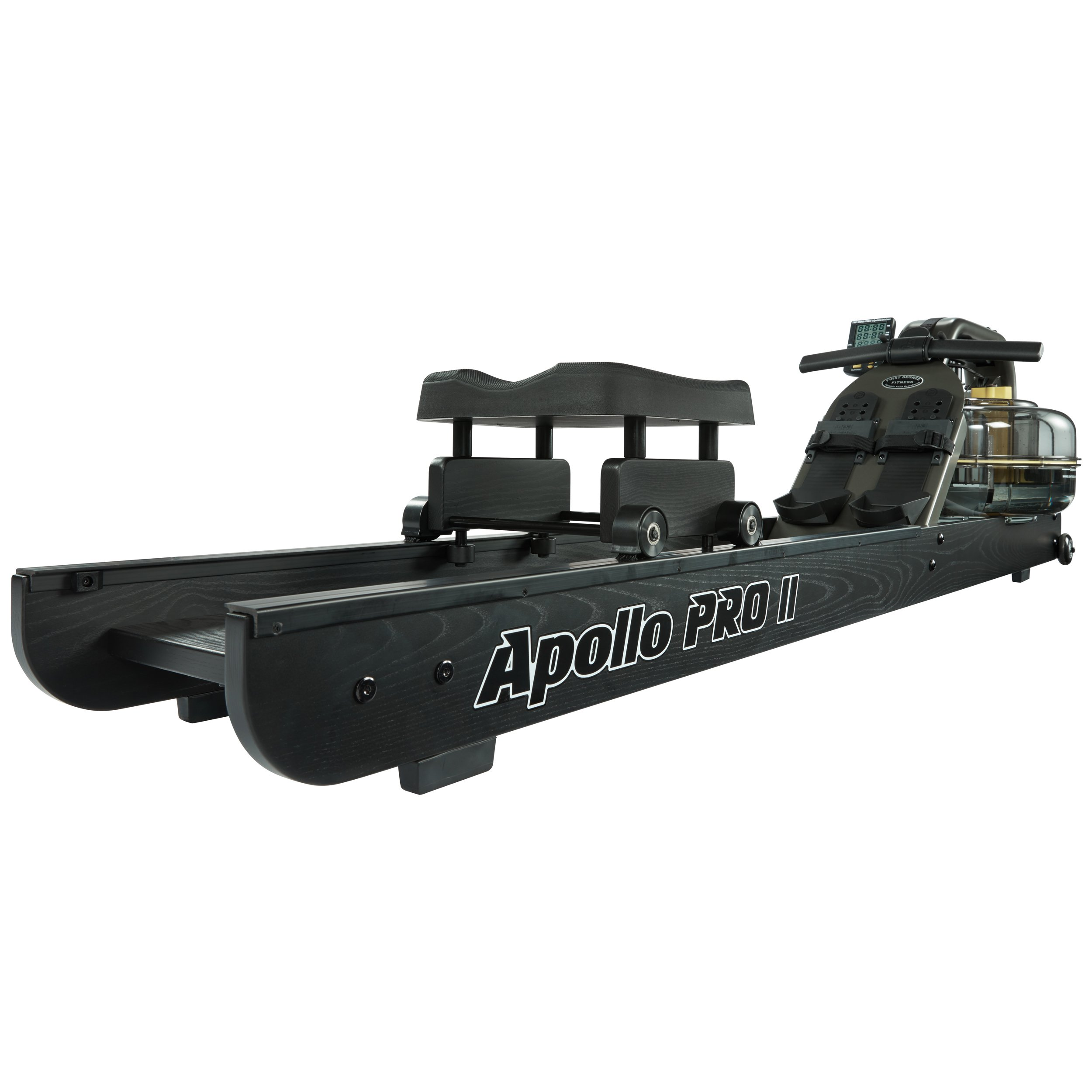 First Degree Fitness Indoor Water Rower with Adjustable Resistance - Apollo Pro II Black Reserve by First Degree (Image #3)