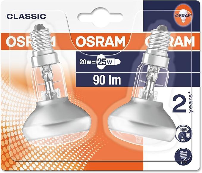 5 x Osram halogène Eco p e14 64541 64542 64543 20w 30w 46w Ampoule de rechange