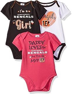 Amazon.com   NFL Houston Texans Unisex-Baby Short-Sleeve Bodysuit ... 66ea0cc41