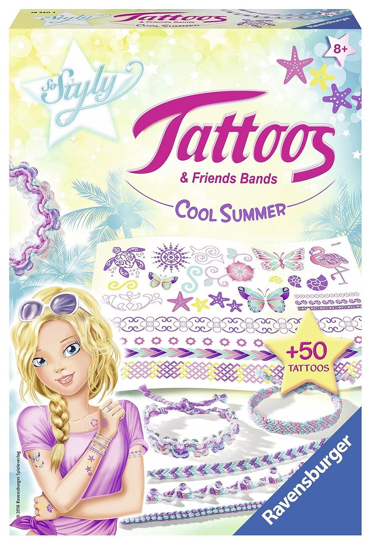 Ravensburger So Styly 18320 - Tattoos und Friends Bands, Cool Summer, bunt Ravensburger Spielverlag 18320 3
