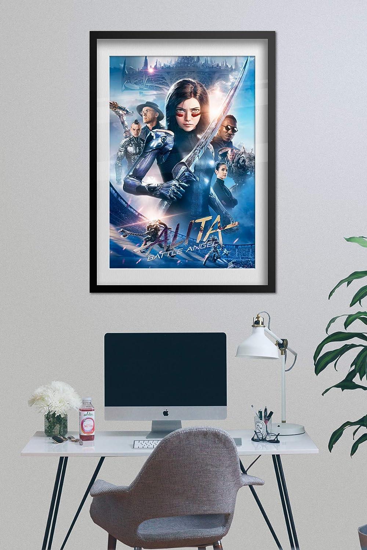 12x18 24x36 32x48 Poster C012 Alita Battle Angel 2019 Movie Hot Girl Art Print