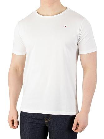 cc0ace68aa2a Tommy Hilfiger Homme T-Shirt en Caoutchouc