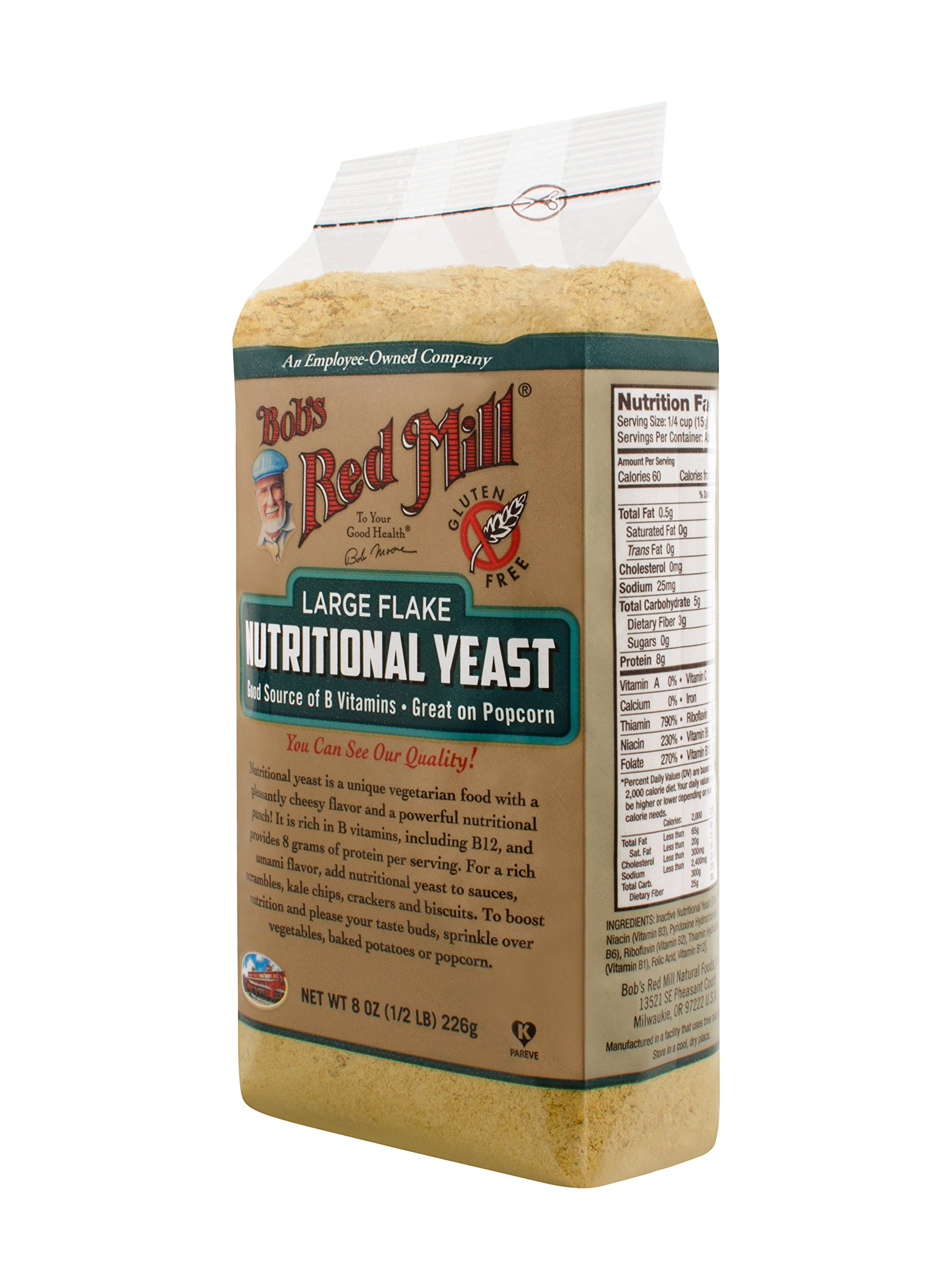 Bob's Red Mill Large Flake Yeast, 8 Ounce by Bob's Red Mill (Image #5)