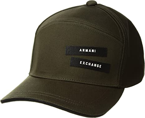 A|X Armani Exchange Hombre 9540358A304 Gorra de béisbol - Verde ...