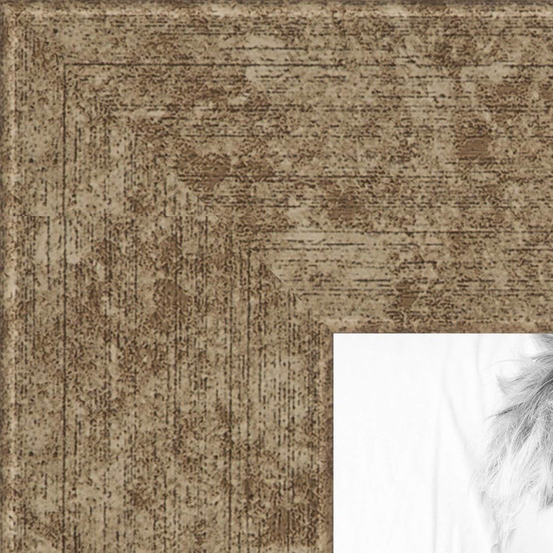ArtToFrames 16x24 inch Crosshatch Silver Frame