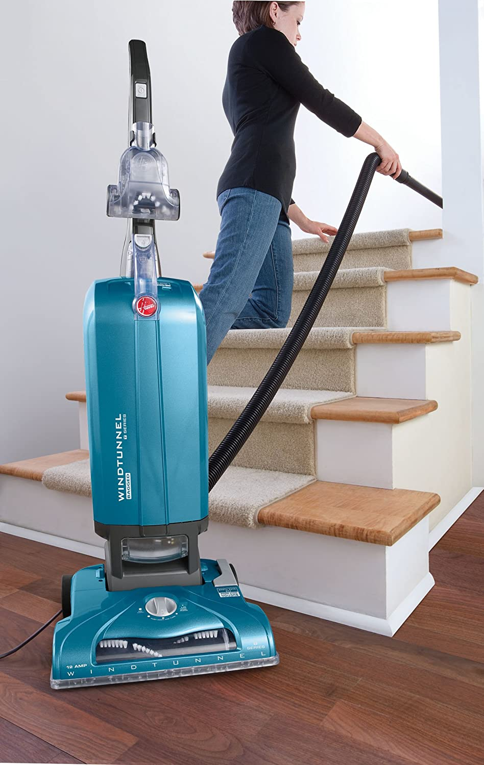 Hoover WindTunnel T Series Upright Vacuum Bagged Blue UH30300 Amazonca Home Kitchen