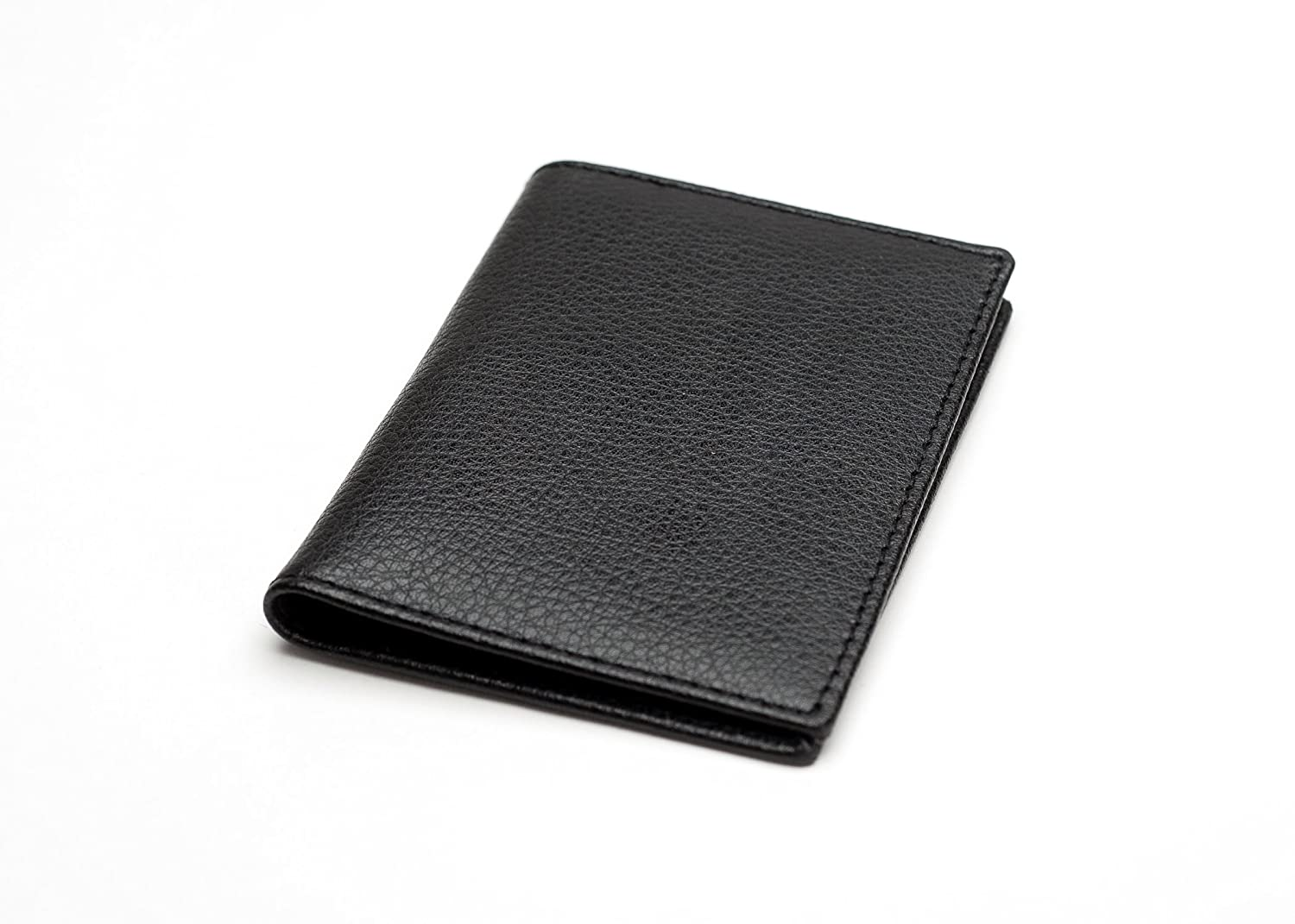 Luxury Chelsea Leather Multi Purpose Card Holder Wallet, Black - Ideal Oyster Card and/or Travel Pass Holder Abbeygate