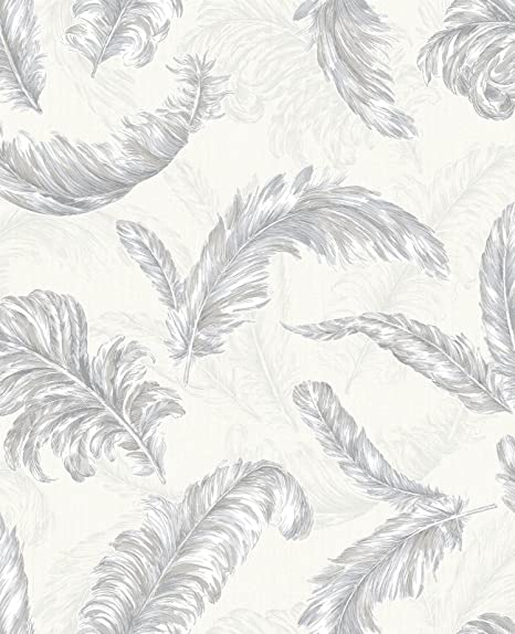 Graham Brown Vinyl Wallpaper Gilded Feather Collection Glitterati 32 945