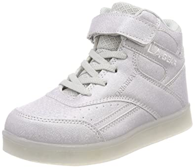 L.A. Gear FLO Lights, Zapatillas de Baloncesto Unisex niños, Gris (Grey 07), 34 EU: Amazon.es: Zapatos y complementos