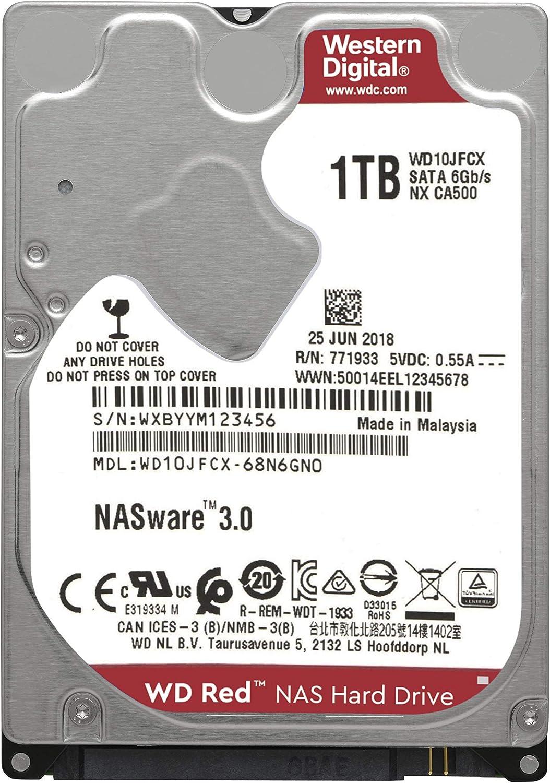 Wd Red 1tb 2 5 Nas Interne Festplatte 5400 Rpm Computer Zubehör