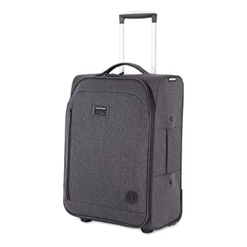 7e35d83a4 Amazon.com | SWISSGEAR Getaway Weekend Rolling Carry-On 20-inch Luggage |  Wheeled Travel Suitcase | Dark Gray | Carry-Ons