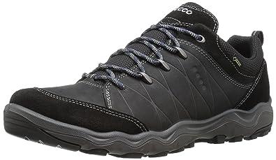 Ecco Ulterra, Chaussures de Randonnée Basses Homme, Noir (Black/Black), 40 EU
