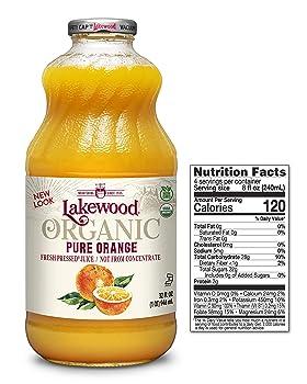 Lakewood Organic Pure Orange Juice