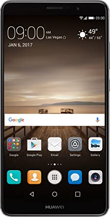 huawei unlocked. huawei mate 9 with amazon alexa and leica dual camera - 64gb unlocked phone space