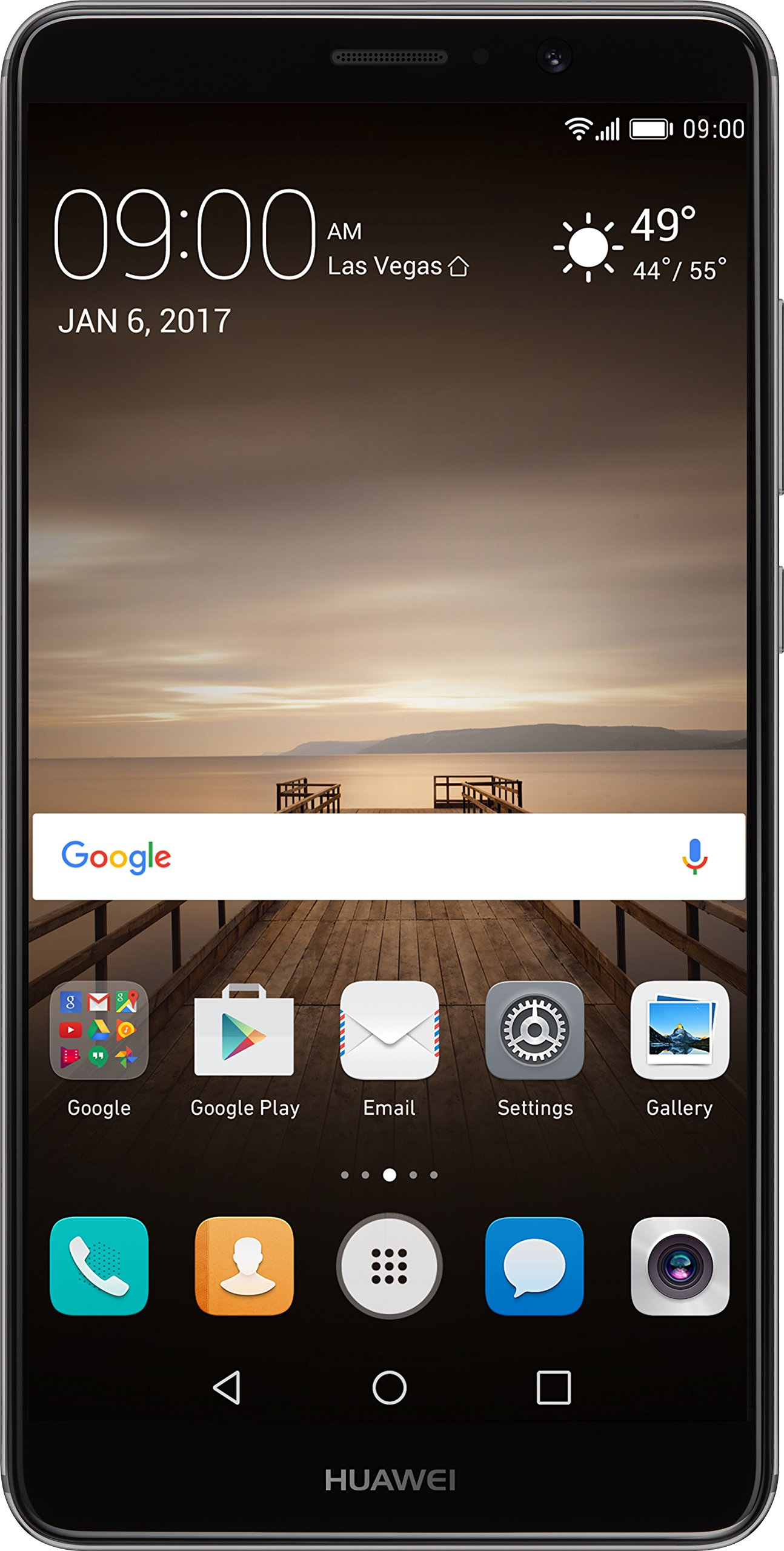 Huawei Mate 9 with Amazon Alexa and Leica Dual Camera - 64GB Unlocked Phone - Space Gray (US Warranty) by Huawei
