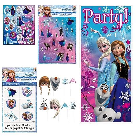 Unique Disney Frozen recuerdos y suministros para fiesta de ...
