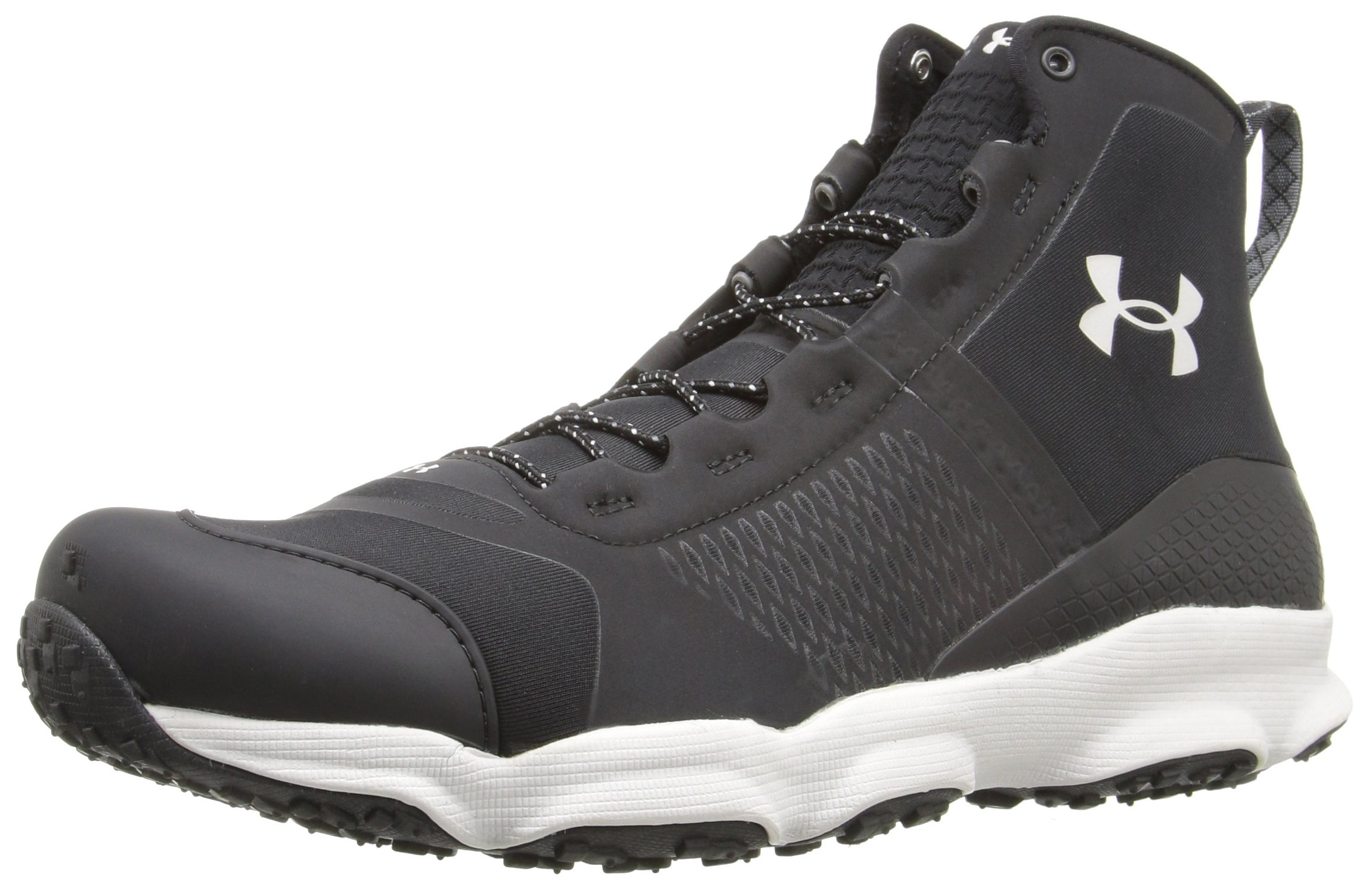 Under Armour Men's Speedfit Mid Hiking Boot, Black (005)/Smoke, 12