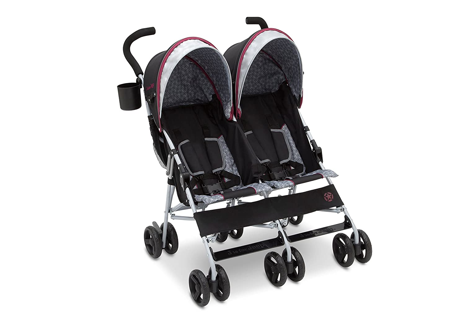 Jeep Scout Double Umbrella Stroller