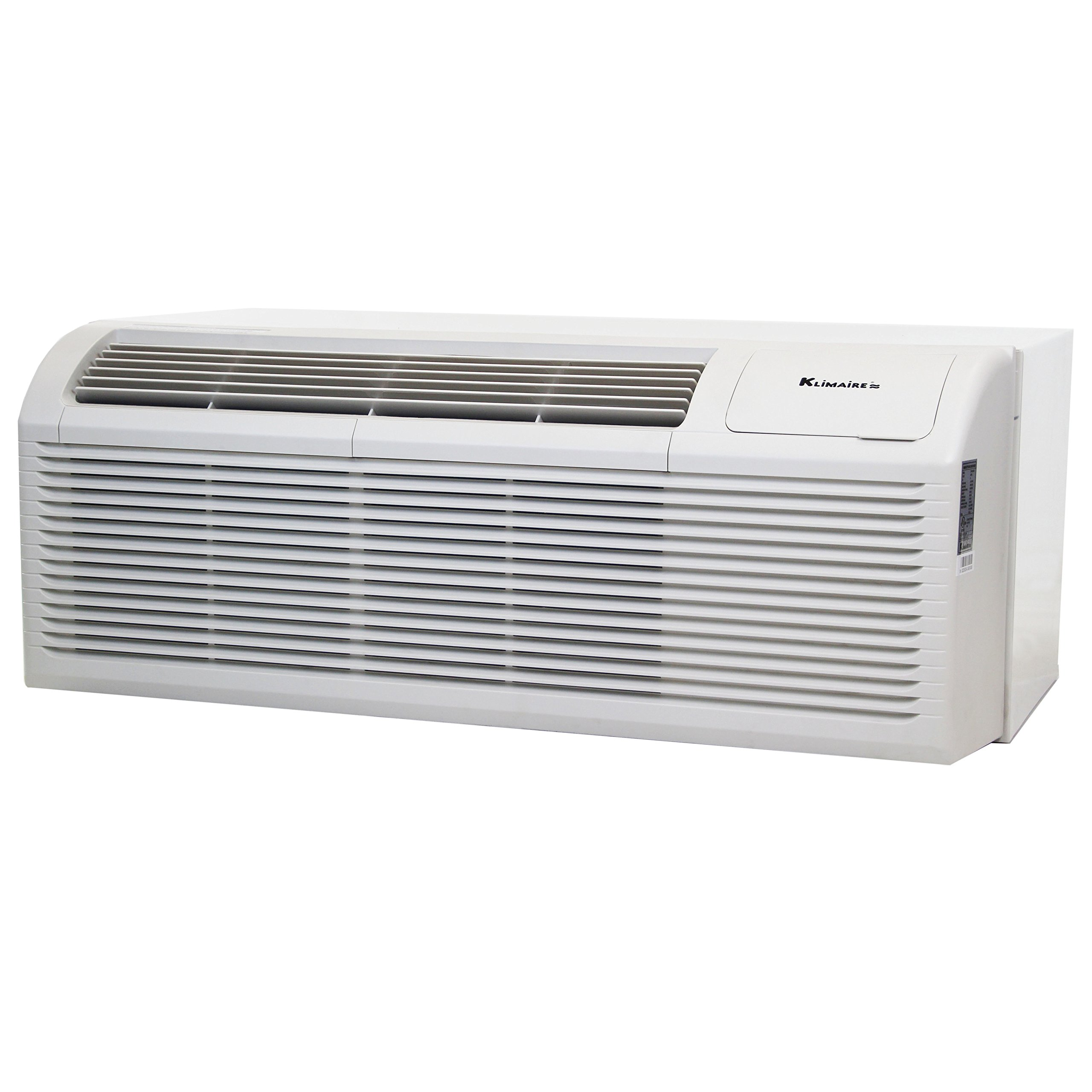 9000 BTU KLIMAIRE 11.3 EER PTHP Heat Pump with 3kW Auxilary Electric Heater includes Wall Sleeve and Aluminum Grille