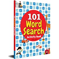 101 Word Search Activity Book: Large Grid Word Search Puzzles for Kids With Attractive Illustrations