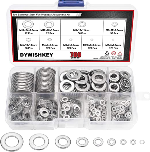M5 MIXED PACK OF 300 RUBBER WASHERS M3 FREE DELIVERY M8 M6 M4