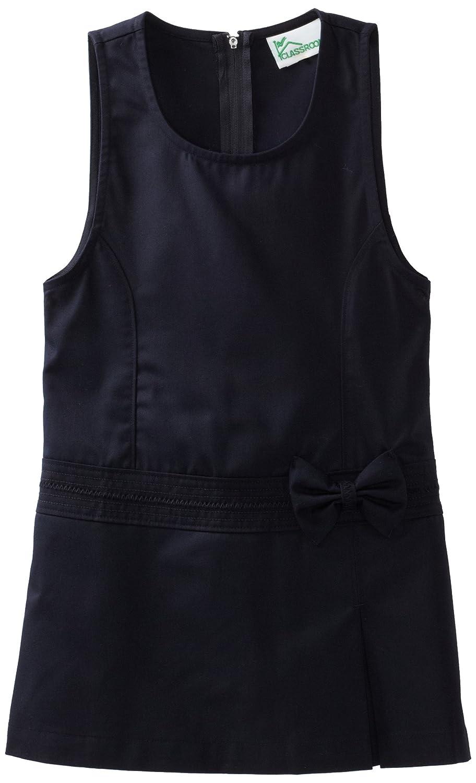 Classroom Uniforms Girls Big Girls Zig Zag Jumper Dress 54222