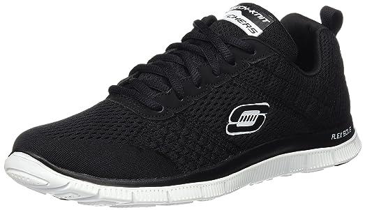 Bruetting Circle - Zapatos para Caminar de Material sintético Mujer, Gris - Grau (Anthrazit/Orange), 43 EU