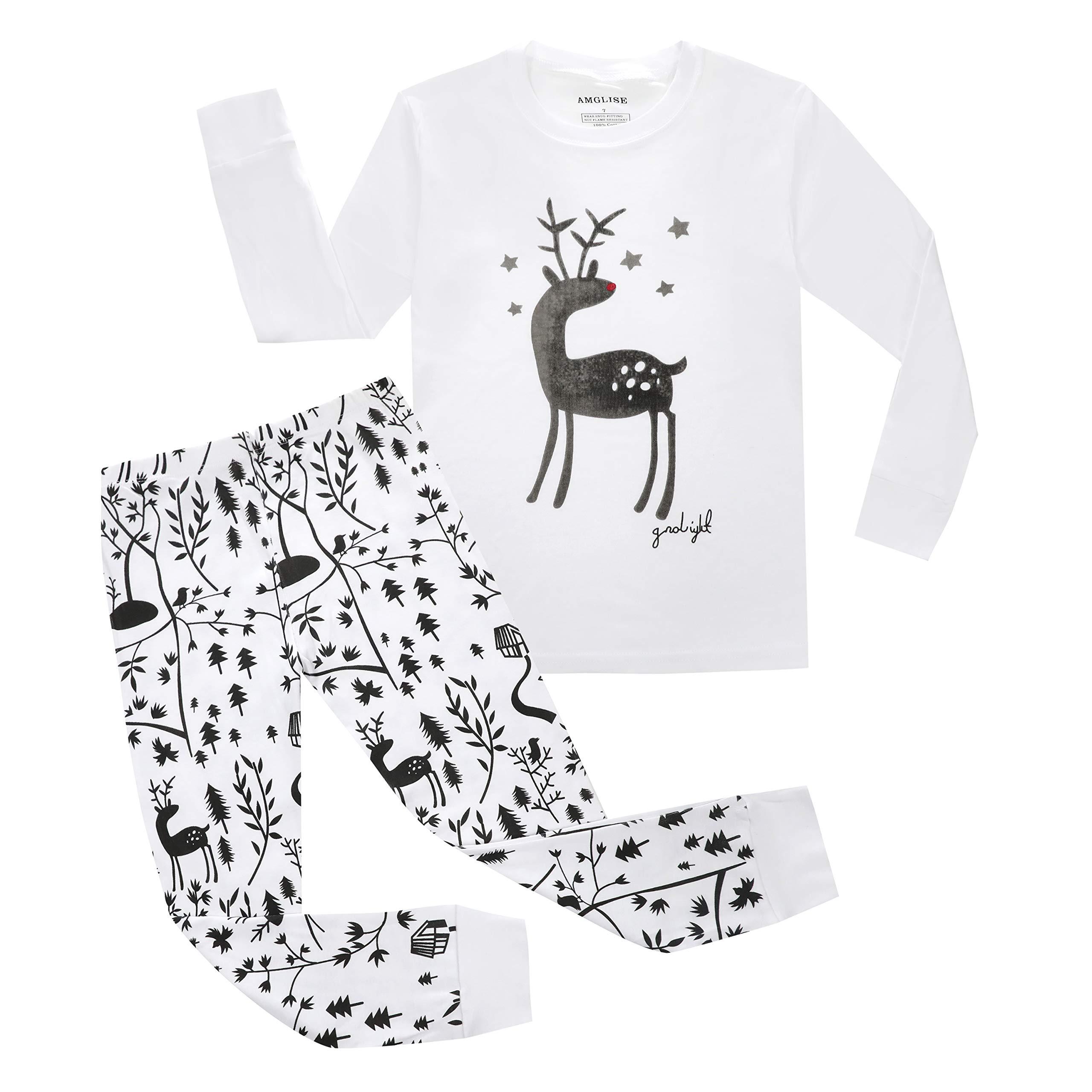 Size 12M-7Years BlcSwan Giraffe Little Girls 2 Piece Pajama 100/% Cotton