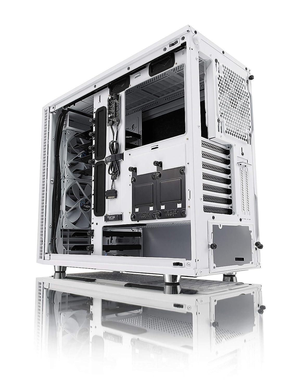 Fractal Design Define R6 White Tempered Glass
