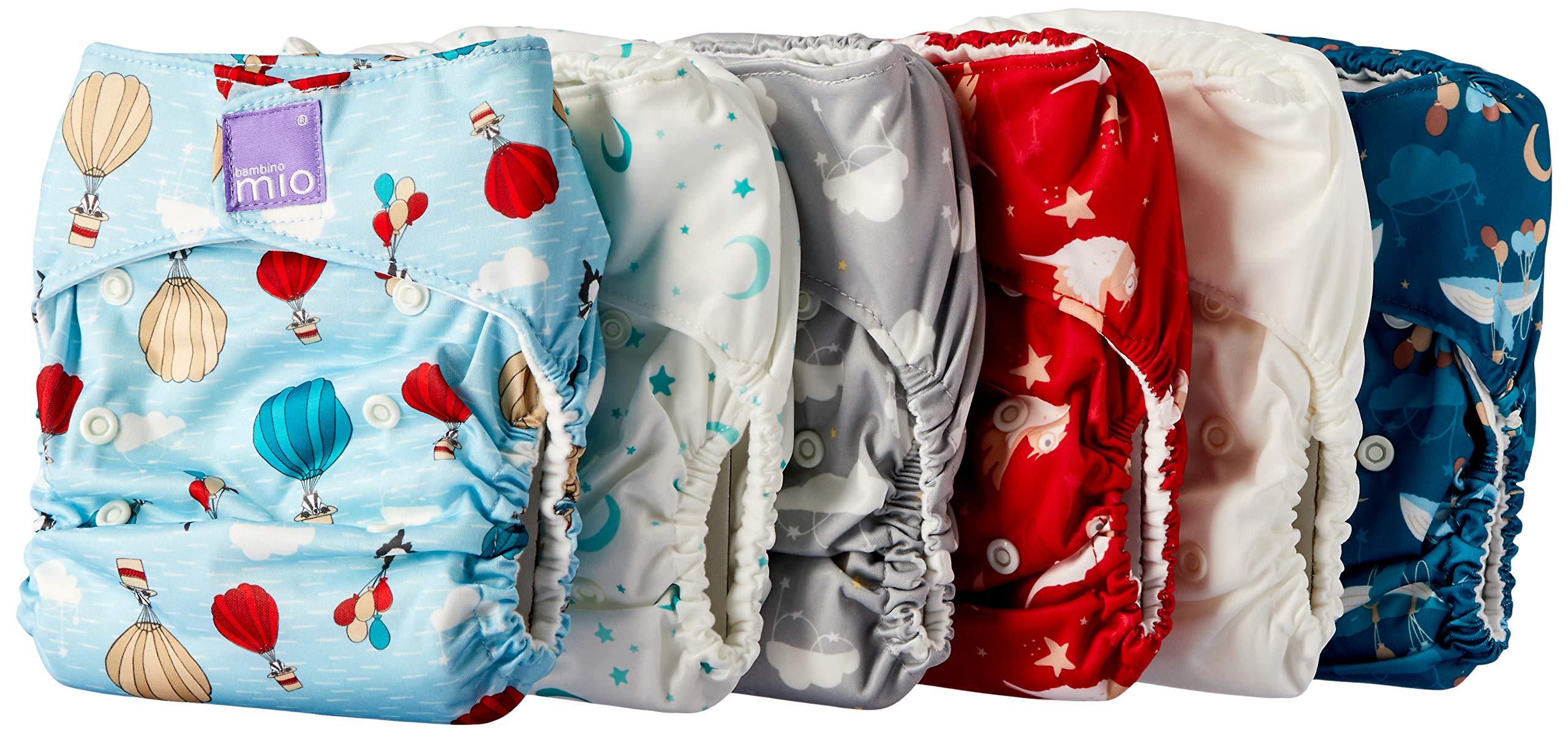 Bambino Mio, Miosolo Cloth Diaper Set, OneSize, Dream Traveler