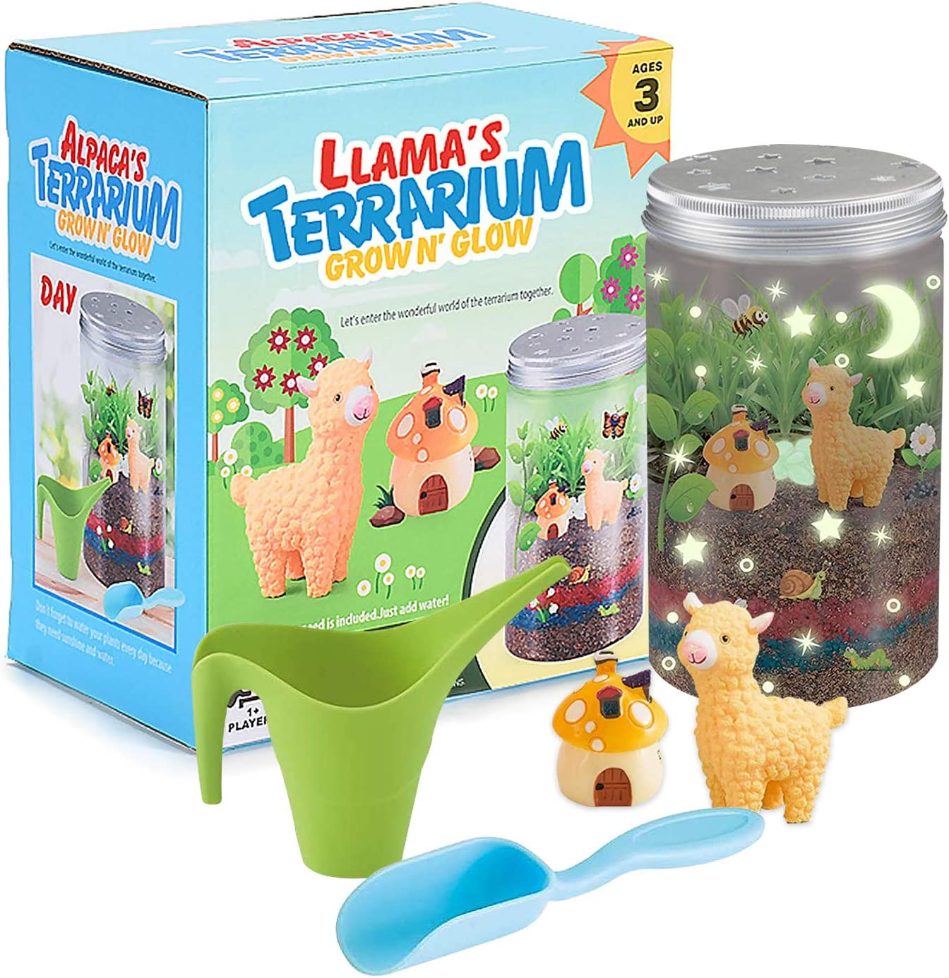 60% Off Coupon – Kids Grow n Glow Terrarium Plant Growing Kit