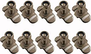 L Track Stud Fitting for L Track and Airline Track-10packs