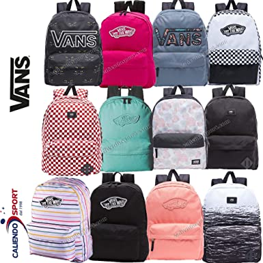 082e46403e Vans womens REALM BACKPACK VN-0NZ0RHQ - PARTY STRIPE  Amazon.de ...