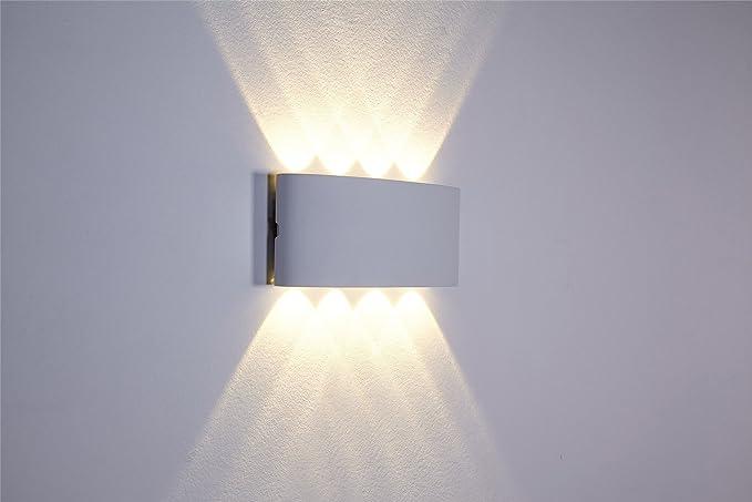 Lampade led da parete simple parete esterna di led lampada da