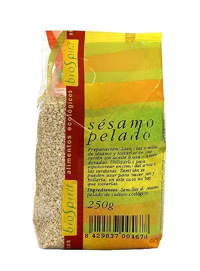 Biospirit Sésamo Pelado de Cultivo Ecológico - 250 gr ...