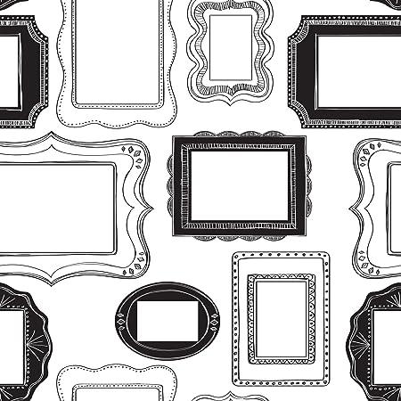 Nuwallpaper Photo Opp Frames Peel And Stick Wallpaper Amazon